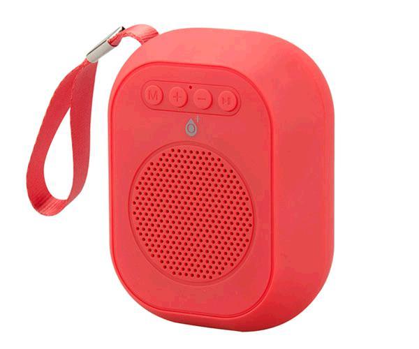 Mini altavoz Bluetooth f4314 rojo - FM - MicroSD -USB - tws - ONE+