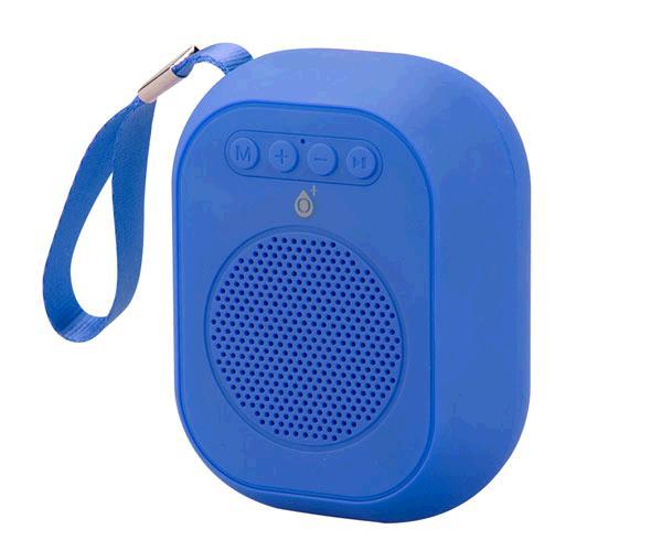 Mini altavoz Bluetooth f4314 azul - FM - MicroSD - USB - tws - ONE+