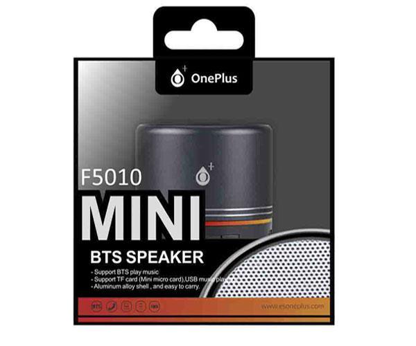 Mini altavoz Bluetooth mera f5010 USB - FM - MicroSD - negro - ONE+