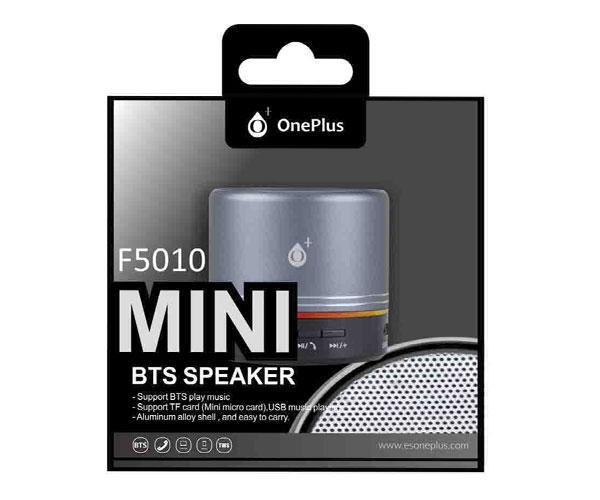 Mini altavoz Bluetooth mera f5010 USB - FM - MicroSD - gris - ONE+