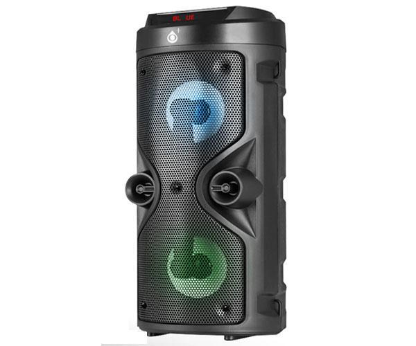 Altavoz Bluetooth F6005 RGB LED - USB - FM - MicroSD - Tws - Aux in - Mic in - 10w - Negro - MTK