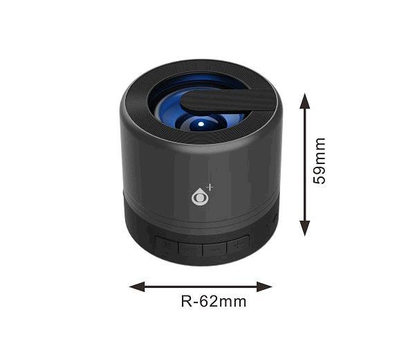 Mini altavoz Bluetooth Joltex F6164 - Luz Led - 3w - Tws - Fm - USB - Negro - ONE+
