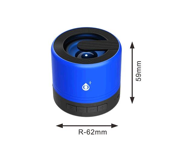 Mini altavoz Bluetooth Joltex F6164 - Luz Led - 3w - Tws - Fm - USB - Azul - ONE+