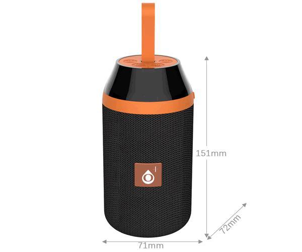 Altavoz Bluetooth 5.0 - Oditro F6483 - 3wx2 - FM - USB - Microsd - Negro -  One+