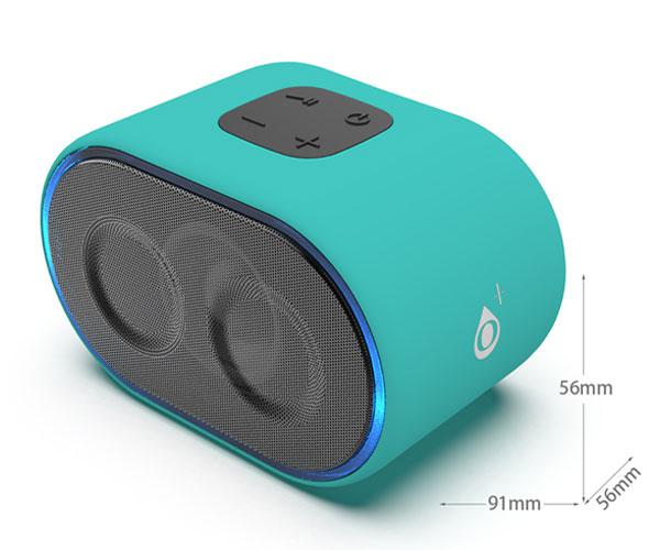 Mini Altavoz Bluetooth Candy NF4063 Verde - BT 5.0 - Tws - 3w - 300mah - One+