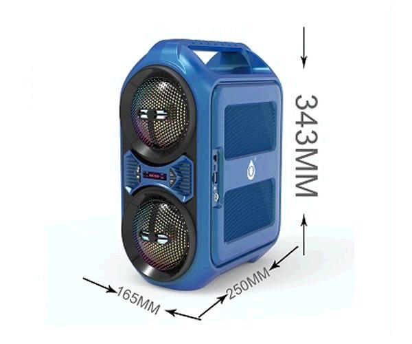 Altavoces Bluetooth 5.0 Puzzle Nf4068 Azul - 20w - Tws - Fm - Microsd - Usb - Karaoke - 3000mah - One+