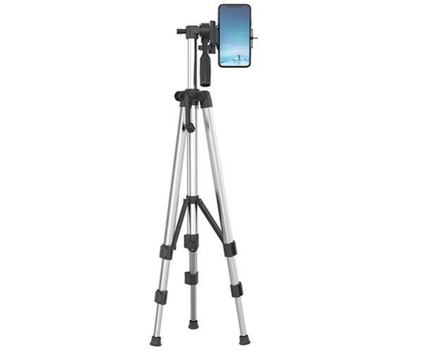 Tripode Aluminio Camara - Smartphones NE5134 - 360 Grados - Extensible 48cm - 134.5cm - Negro - One+