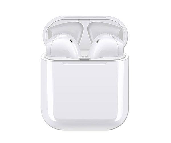 Auriculares estereo Bluetooth C6038 Larix - tws - blancos - con base de carga - ONE+