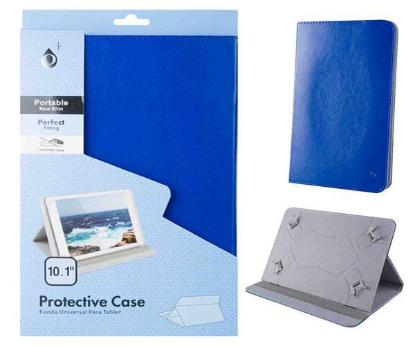 Funda tablet universal 10.1 pulgadas marg ONE+ azul