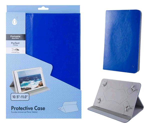 Funda tablet universal 10.5 - 11 pulgadas marg ONE+ azul