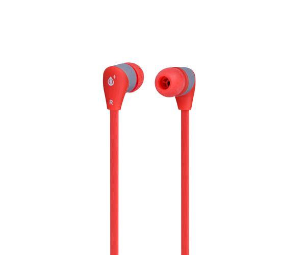 Auriculares em104 sandy rojo - gris