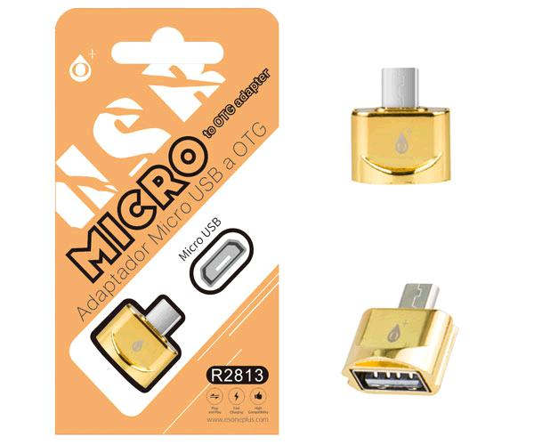 ADAPTADOR MICROUSB OTG  ORO ONE+ R2813