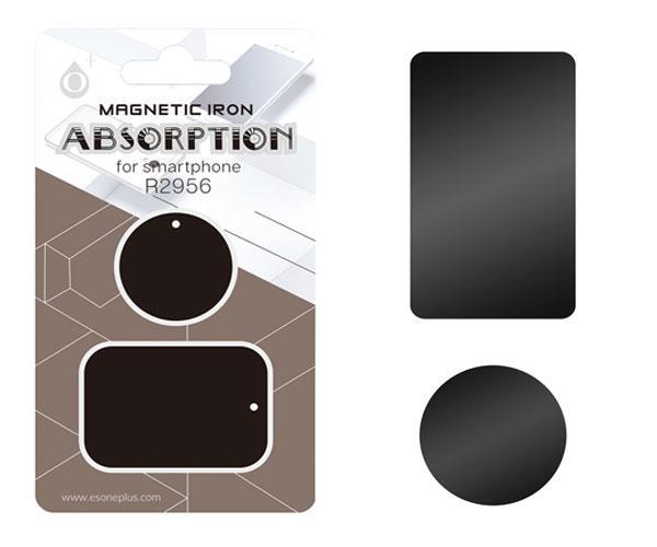 Soporte magnetico para smartphone negro r2956