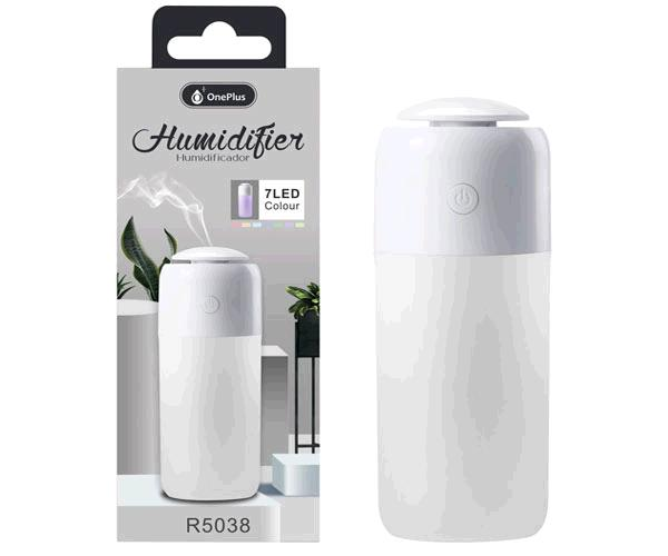 Humidificador LED r5038 - 7 colores - blanco