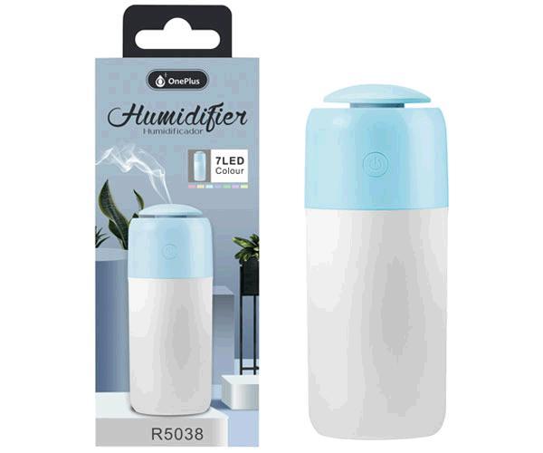 Humidificador LED r5038 - 7 colores - azul