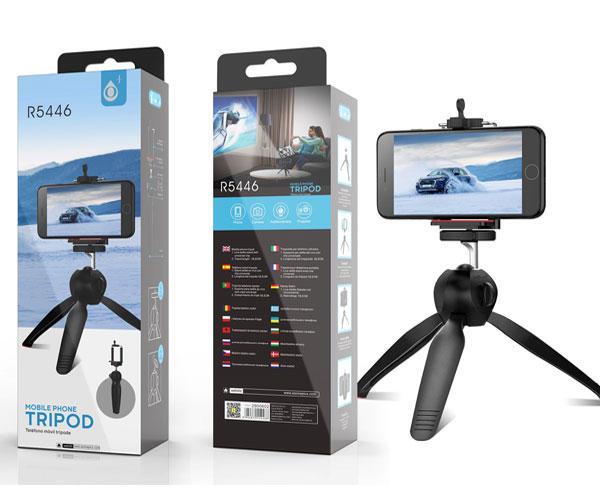 Tripode Camara - Smartphone R5446 - 18.5cm - Negro - One+