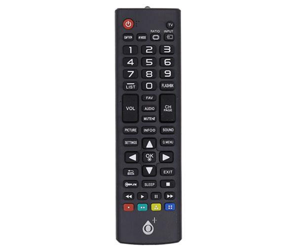 Mando a distancia TV Universal Lg R5631 - Negro - Modelo 2 - One+