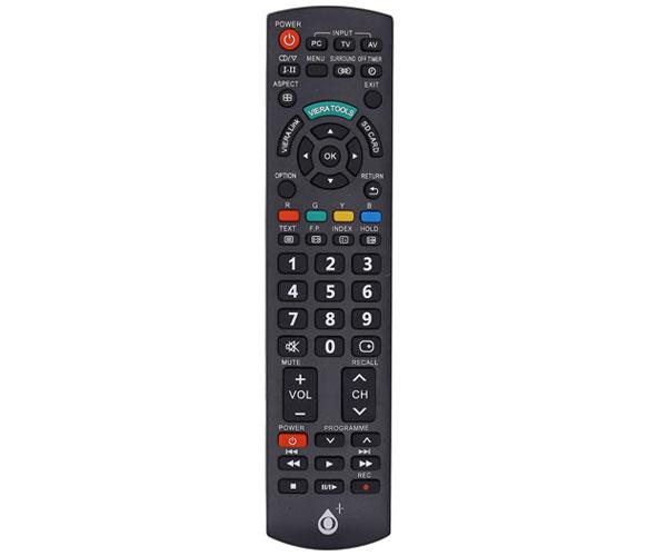 Mando a distancia TV Universal Panasonic R5632 - Negro - One+