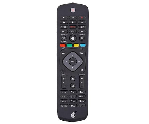 Mando a distancia TV Universal Philips R5633 - Modelo 1 - Negro - One+