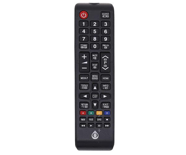 Mando a distancia TV Universal Samsung R5634 - Modelo 1 - Negro - One+
