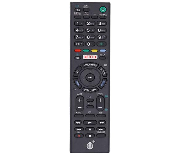 Mando a distancia TV Universal Sony R5637 - Negro - One+