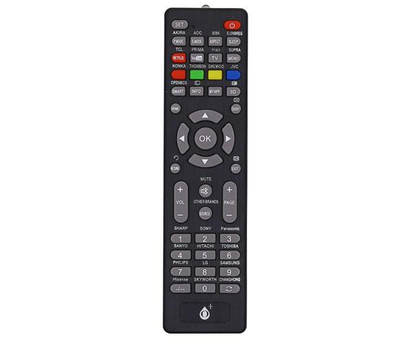 Mando a distancia TV Universal R5639 - Negro - One+