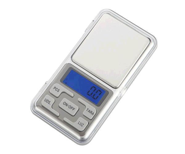 Bascula Digital R5793 - 0.1g - Funcion de tara y descuento - Calibrable - Plata - One+