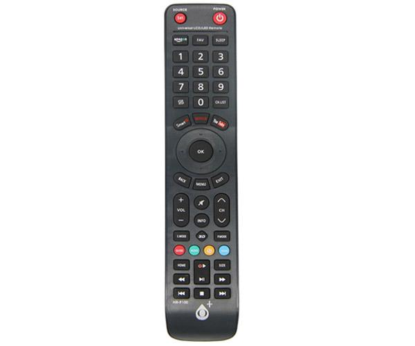 Mando a distancia TV Universal Nr9100 - Negro - One+