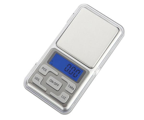 Bascula Digital NR9109 - 0.01g - Funcion de tara y descuento - Calibrable - Mini balanza de joyeria -  Plata - One+