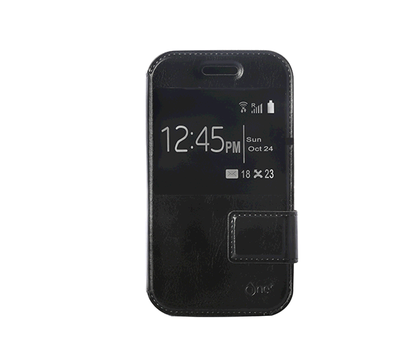 Funda universal smartphone 4 pulgadas negra