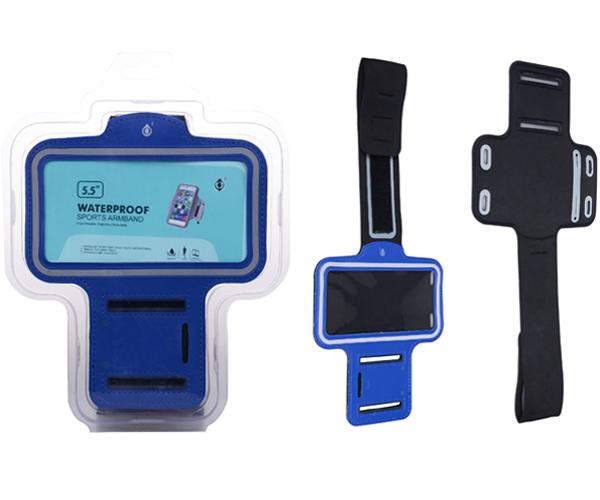 Funda brazalete smartphone 5.0 - 5.7 pulgadas azul ONE+