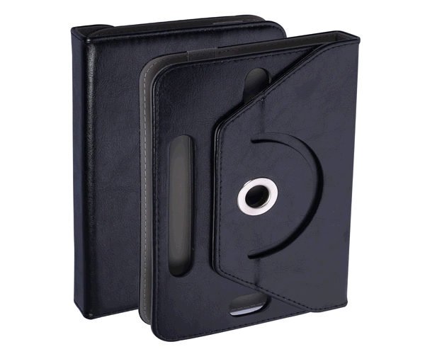 Funda tablet ajustable giratoria 8 pulgadas negro ONE+