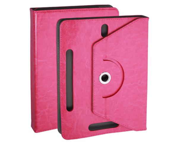 Funda tablet ajustable giratoria 8 pulgadas rosa ONE+