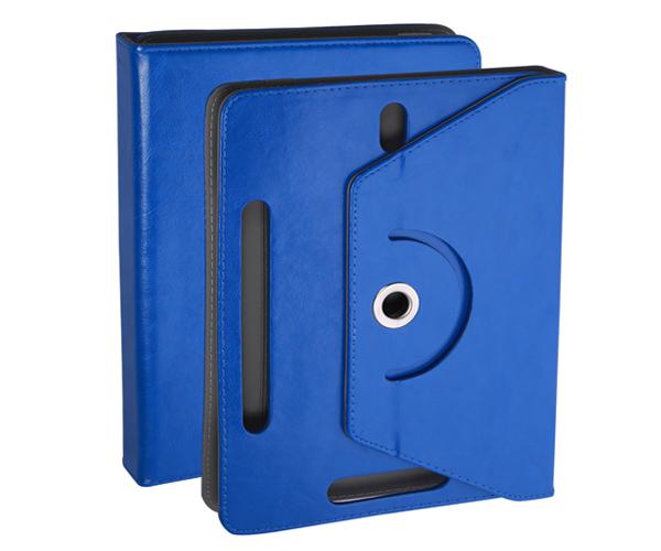 Funda tablet ajustable giratoria ONE+ 7 pulgadas azul