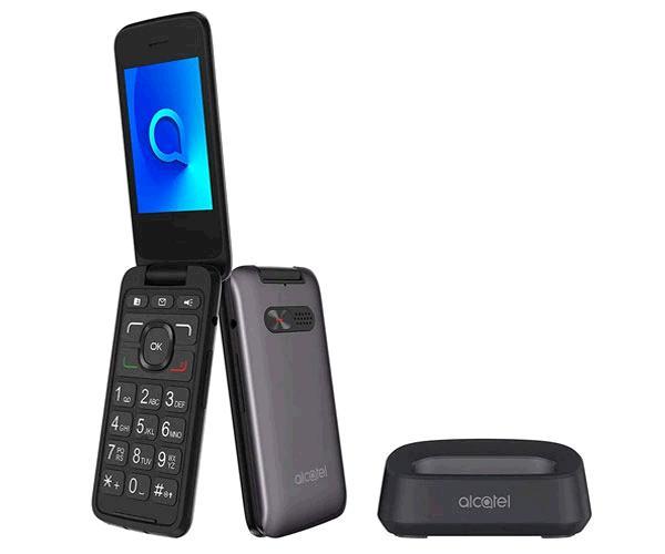 Smartphone Alcatel 3026x Metallic Grey 2.8 pulg. - Bluetooth - Tipo concha