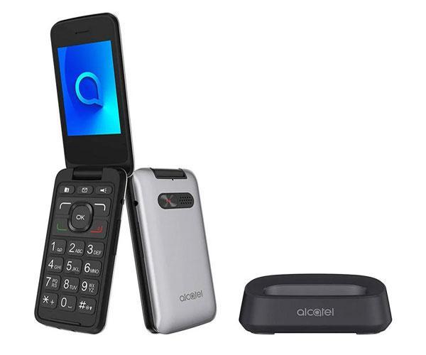 Smartphone Alcatel 3026x Metallic Siver 2.8 pulg. - Bluetooth - Tipo concha