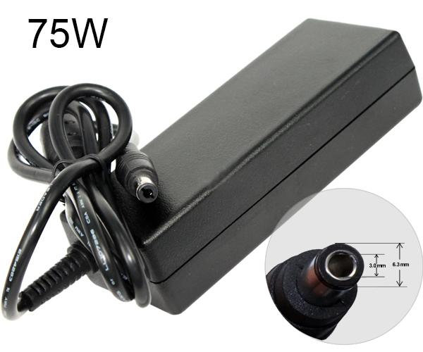 Cargador portatil Toshiba 15v 5a  6.3x3.0 mm
