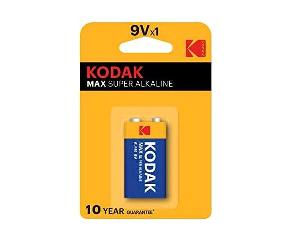 Pila Kodak Max Alcalina 9v - 6lr61 - 6lf22
