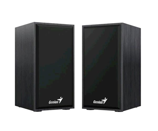 Altavoces 2.0 madera USB Genius Hf180 - 3wx2 - Color Negro