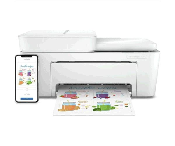 Impresora Multifuncion Hp Deskjet Plus 4120 -  A4 - 8.5ppm - USB - WIFI && IMPRESORAS