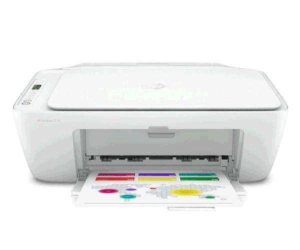 Impresora multifuncion Hp deskjet 2720 - Wifi - A4 - 7.5ppm - Blanca