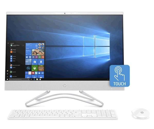 PC AIO HP 23.8P. TACTIL - 24-F0018NS - I3-8130 - 8GB - 1TB - MX-110 2GB -  W10 HOME - 3ZZ76EA