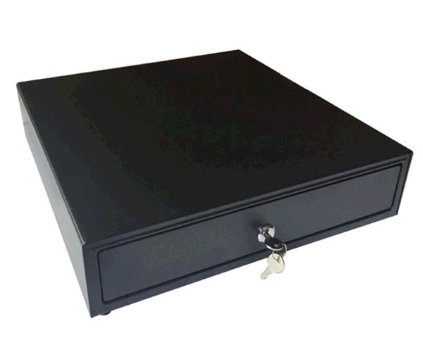 Cajon portamonedas automatico 41x41 - rj11 negro