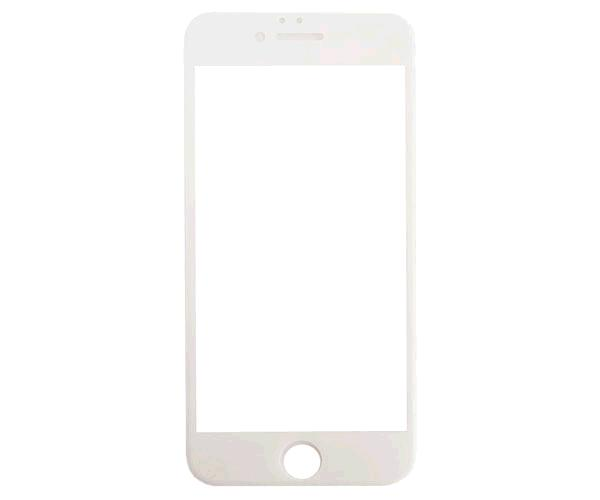 Cristal templado iPhone 6-7-8 plus blanco full glue reforzado