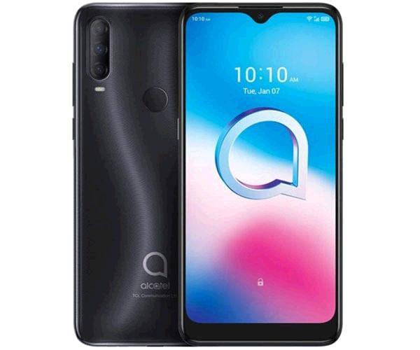 Smartphone Alcatel 3L 2020 5029d Dark Chrome - 6.2 pulg. HD+ - Octacore - 4Gb - 64Gb - 48+5+2 Mp