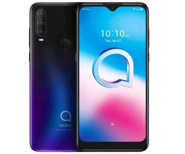 Smartphone Alcatel 3L 2020 5029d Chameleon Blue - 6.2 pulg. HD+ - Octacore - 4Gb - 64Gb - 48+5+2 Mp