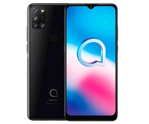 Smartphone Alcatel 3x 2020 5061k - Jewelry Negro - 6.52 pulg. Hd - Octacore Mt6762 - 4Gb - 64Gb - 16mpx - 8 mpx
