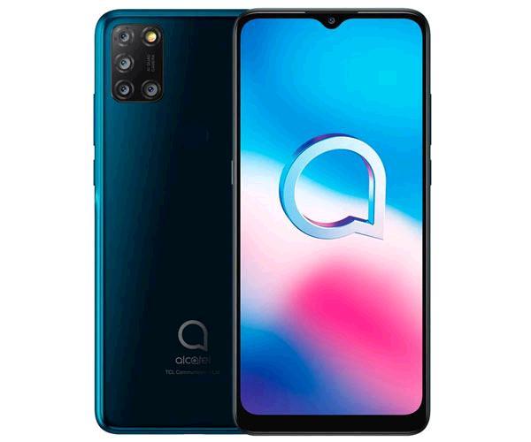 Smartphone Alcatel 3x 2020 5061k  - Jewelry Verde - 6.52 pulg. Hd - Octacore Mt6762 - 4Gb - 64Gb - 16mpx - 8 mpx