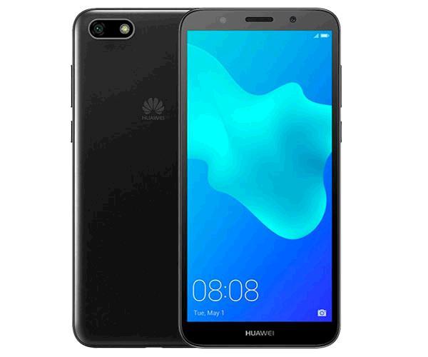 SMARTPHONE HUAWEI Y5 2018 NEGRO 5.45 PULG.- QUADCORE MT6739 - 2GB - 16GB - DUAL 13MPX - 5 MPX
