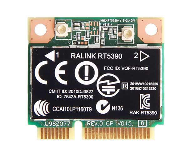 Pcb wifi Hp cq42 - cq56 - ralink rT5390 -  691415-001